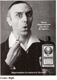 Jagermeister Cesare Righi